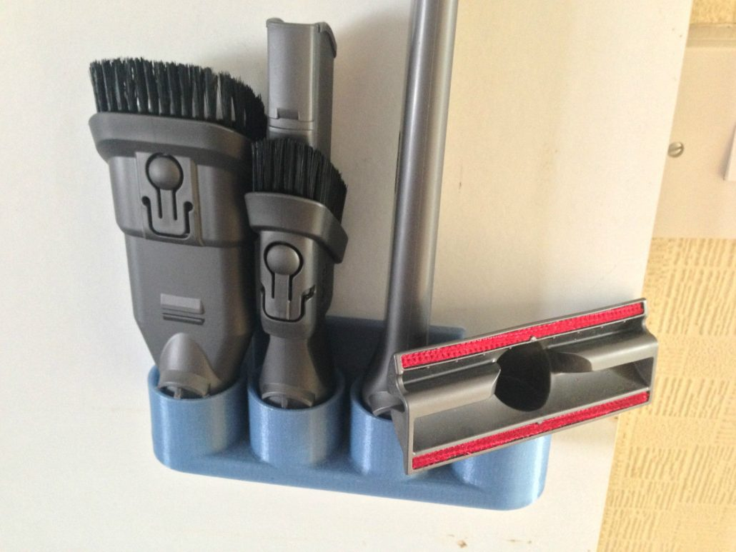 4 Tool Wall Mounted Organiser Bracket For Dyson Cleaner